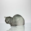 Marc Lalique Cat - Cat Repose by Marc Lalique - Hickmet Fine Arts