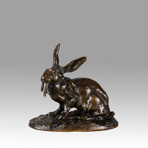 Bronze rabbit by Mene