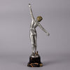 Fernand Ouillon-Carrer Speak Dancer Bronze