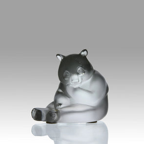 """Seated Panda"" by Marie Claude Lalique"