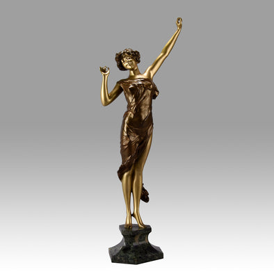 Paul Philippe Le Reveil -  Art Deco Bronze - Hickmet Fine Arts