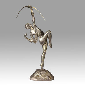 Faguays Diana - Pierre Le Faguays Bronze - Hickmet Fine Arts