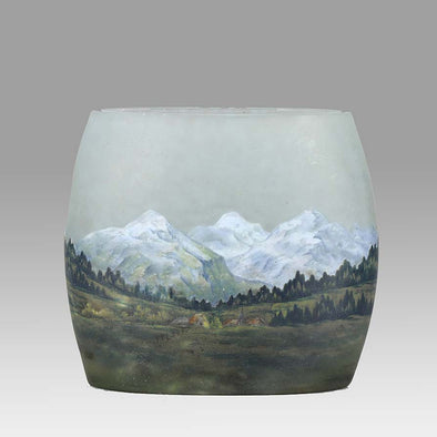 Pillow Alpine Vase by Daum Freres