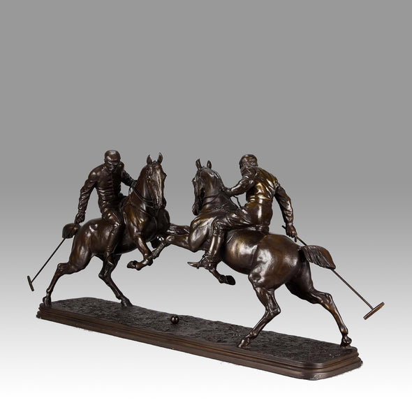 """Polo Players"" by Isidore Bonheur"