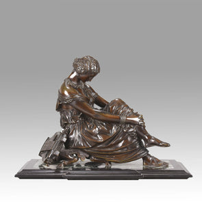 """Seated Sappho"" by Pradier"