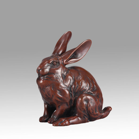 """Seated Rabbit"""