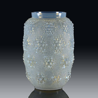 Davos Vase by Rene Lalique