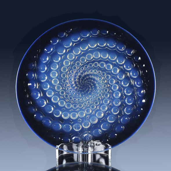 """Volutes Plate"" by René Lalique"