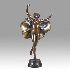 Butterfly Dancer - Richard Thuss Bronze - Hickmet Fine Arts