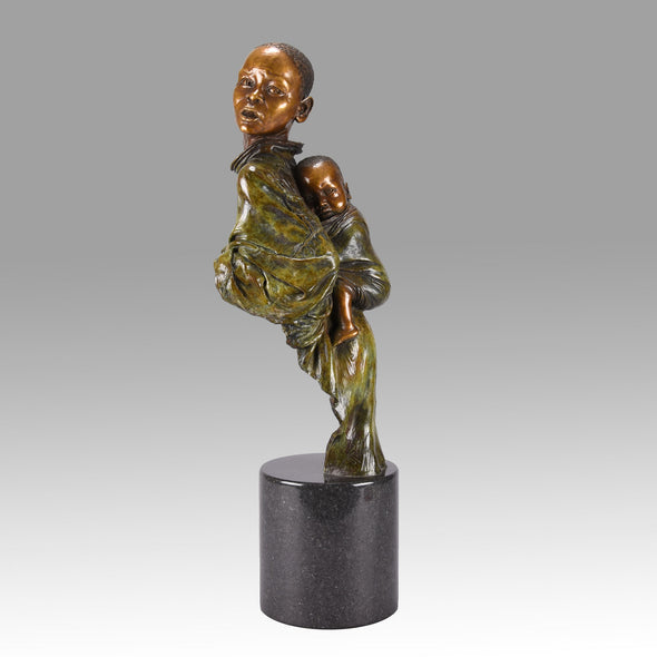 Winterburn Bronze - He Ain't Heavy He's my Brother - Hickmet Fine Arts