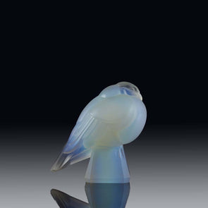 Art Deco Opalescent Glass Bird by Marius Sabino