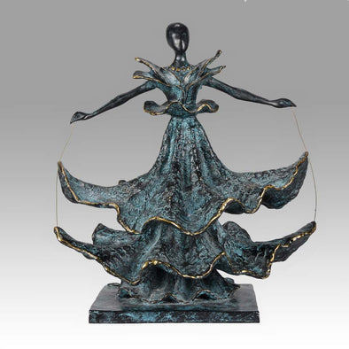 Limited Edition Dali Bronze Dalinian Dancer