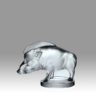 Car Mascot by Lalique 'Sanglier'