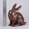 Japanese Okimono - Seated Rabbit - Hickmet Fine Arts