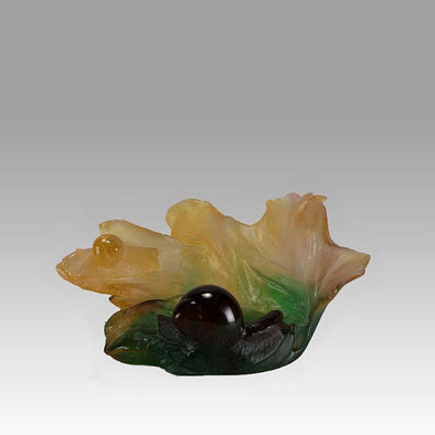 """Snail Vide Poche"" by Daum Glass"