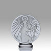 """St Christophe"" by René Lalique"