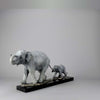 Limited Edition Bronze Steve Winterburn Elephants