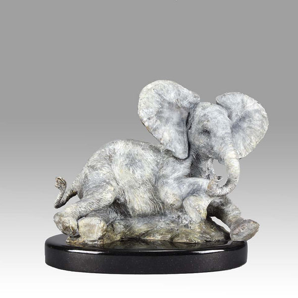Limited Edition Bronze Steve Winterburn Elephant