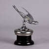 Nickel Plated Bronze Swallow Car Mascot