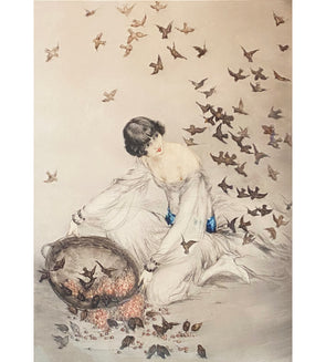 """Thieves"" by Louis Icart"