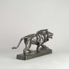 Paul Thomas Bronze Lion Qui Marche