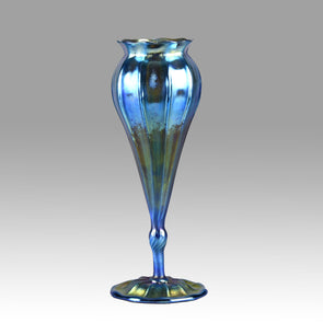Tiffany Glass - Favrille Vase - Hickmet Fine Arts