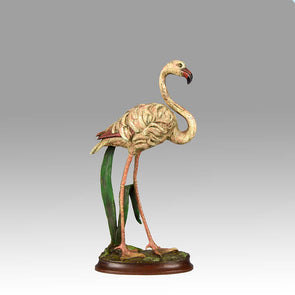 Vienna Bronze Flamingo