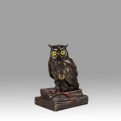 "Vienna Bronze ""Wise Owl"""