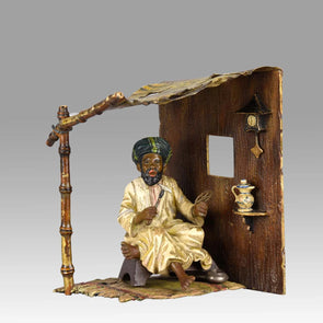 """Arab Clockmaker"" by Franz Bergman"