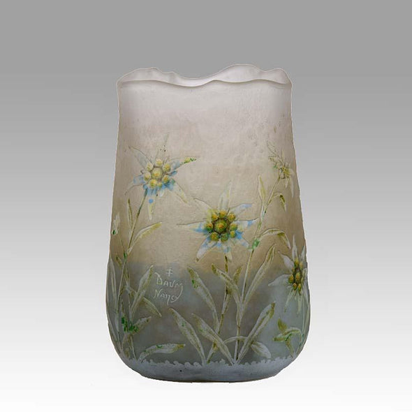 'Edelweiss Vase' by Daum Freres