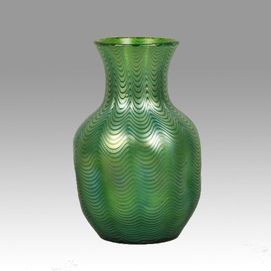 Loetz Glass Vase - Candia Phanomen Vase by Johann Loetz