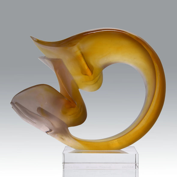 """La Tendresse"" by Etienne for Daum Glass"