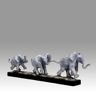 Steve Winterburn -  Orphans - Limited Edition sculpture