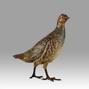 partridge bronze by bergman