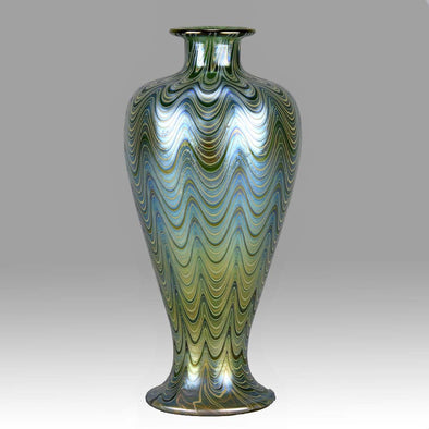 Loetz Glass Phanomen Vase by Johann Loetz - Hickmet Fine Arts