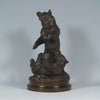 Lecourtier Bears Playing Animalier Bronze