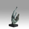 Lucianne Lussalle - With Buring Wings Bronze