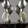 Andre Becquerel Art Deco Bronze Bookends