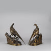Bronze pheasants by Moigniez
