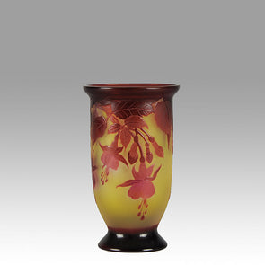 Red Fuschia Vase