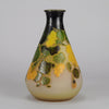 Yellow Flower Vase by Gallé