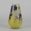 Gallé Blueberry Vase
