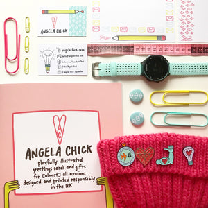 MarchMeetTheMaker Instagram challenge with Joanne Hawker flatlay image by Angela Chick