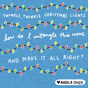 Twinkle Twinkle Small Business Christmas Prep by Angela Chick