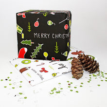 Mixed Christmas Gift Wrap by Angela Chick