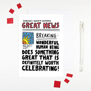 Great News Card