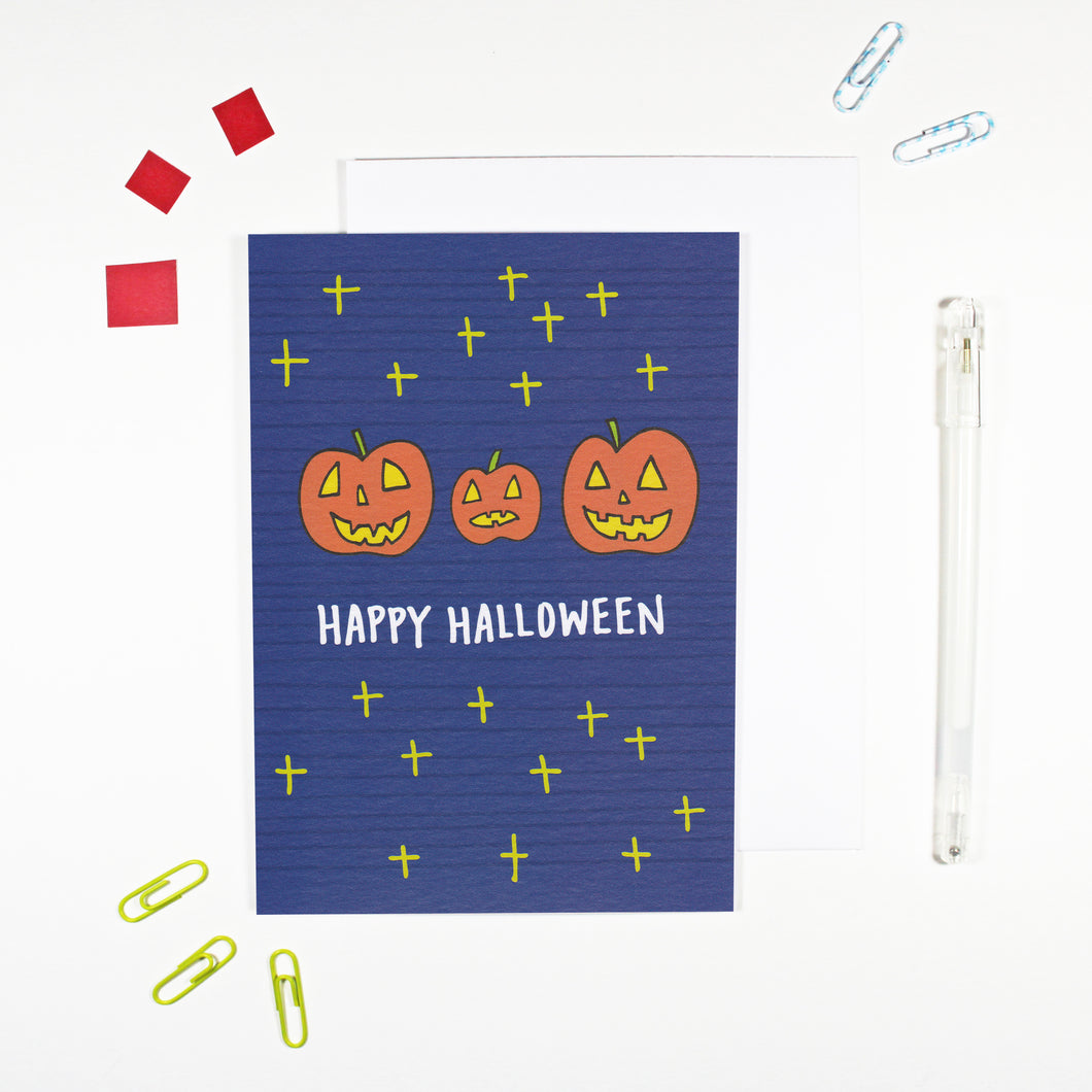 Happy Halloween Card by Angela Chick