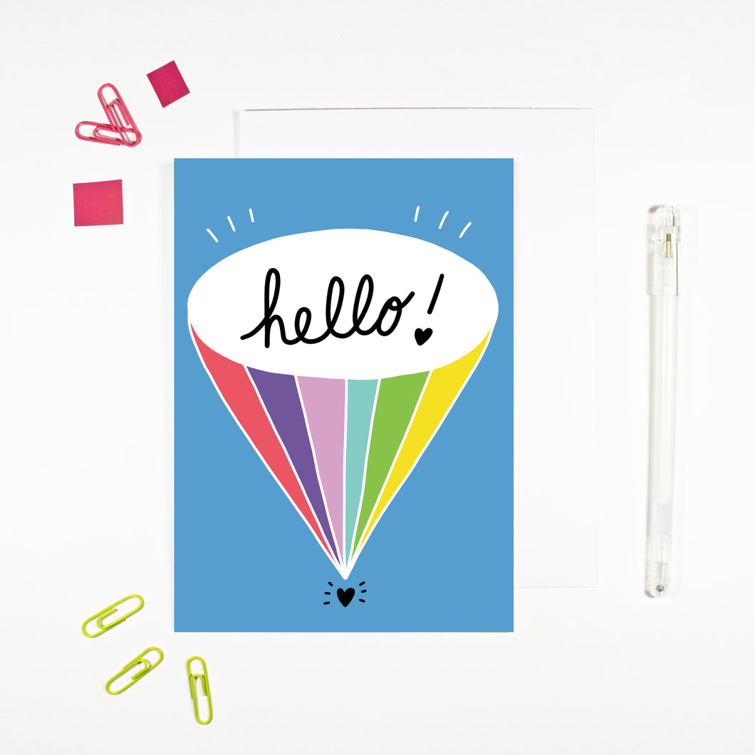 Hello! Card by Angela Chick
