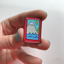 Happy Place Mountain Lover Pin by Angela Chick