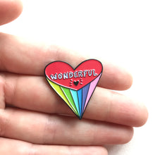 Wonderful Heart Pin